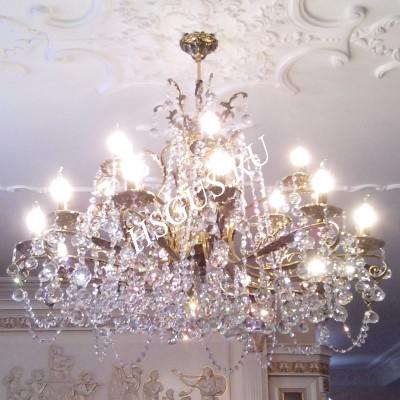 Бронза  18 ламп с Фигурой