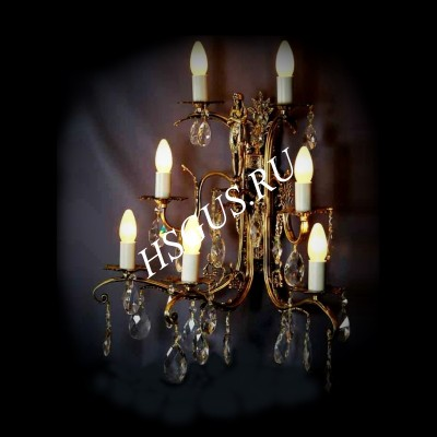 Бра Бронза 7 ламп