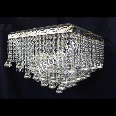 Квадрат 5 ламп Капель Конус