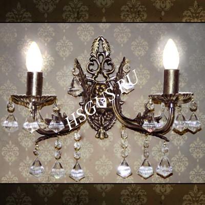 Бра Бронза 2 лампы